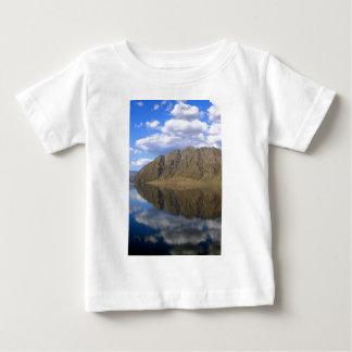 Reflexiones de espejo en el lago hermoso Hawea T-shirt