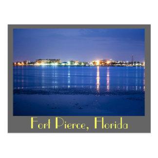 Reflexiones de Fort Pierce, la Florida Tarjetas Postales