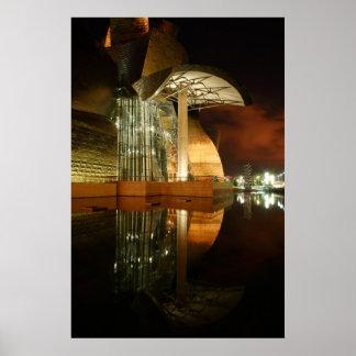 Reflexiones de Guggenheim I Póster