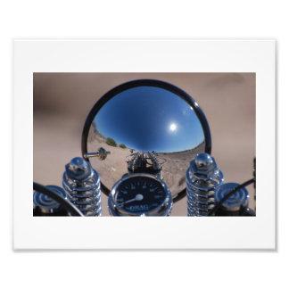 Reflexiones de la linterna fotografía
