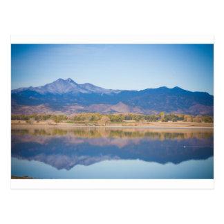 Reflexiones de la montaña rocosa de Colorado Postales