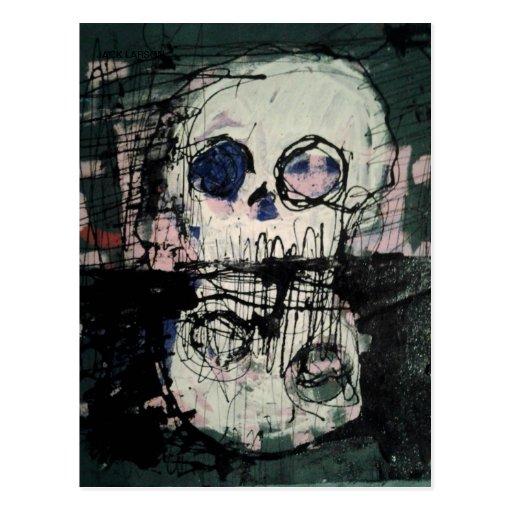 """""""REFLEXIONES DE LA MUERTE"""" por el enchufe larson Postal"""