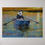 Reflexiones de la panda póster