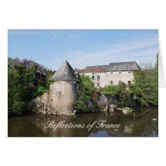 Reflexiones de la tarjeta de nota de Francia II