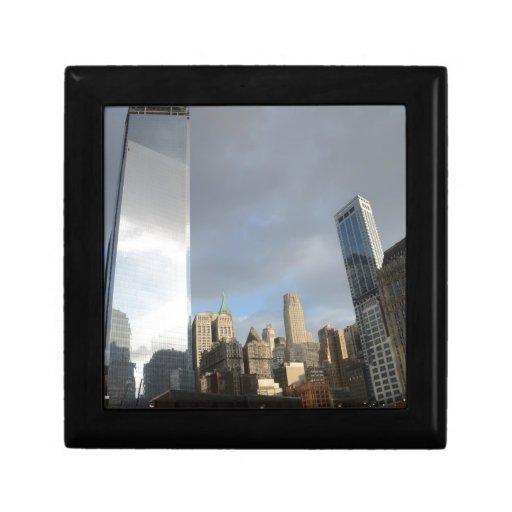 Reflexiones de Nueva York Cajas De Recuerdo