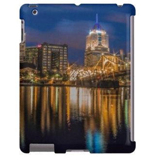 Reflexiones de Pittsburgh Funda Para iPad
