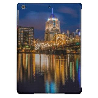 Reflexiones de Pittsburgh Funda Para iPad Air