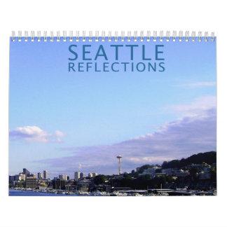Reflexiones de Seattle Calendario
