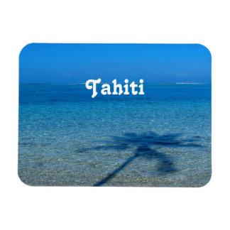 Reflexiones de Tahití Rectangle Magnet