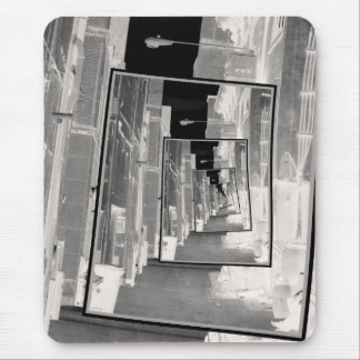 Reflexiones de un callejón infrarrojo tapetes de raton