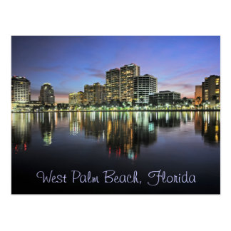 Reflexiones de West Palm Beach, la Florida Postal
