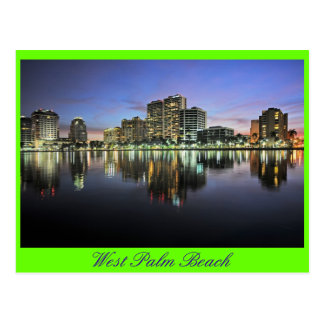 Reflexiones de West Palm Beach, la Florida Postales