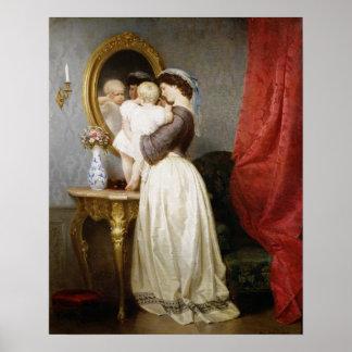 Reflexiones del amor maternal póster