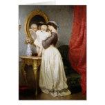 Reflexiones del amor maternal tarjeta de felicitación