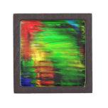 Reflexiones del arco iris cajas de recuerdo de calidad