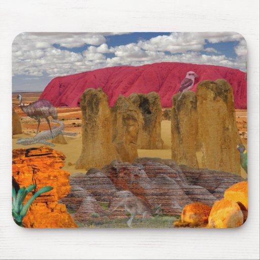 REFLEXIONES del australiano de la onza interior Tapete De Raton