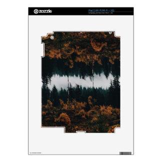 Reflexiones del bosque skins para iPad 2