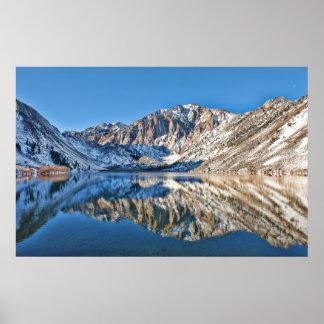 Reflexiones del lago Convict Póster
