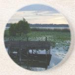 Reflexiones del lago posavasos diseño
