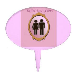 Reflexiones del primero de la torta del amor figuras para tartas