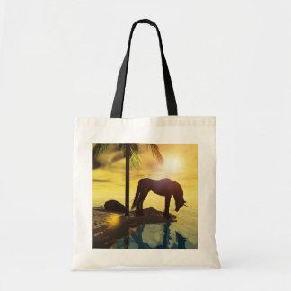 reflexiones del tote del unicornio bolsa tela barata