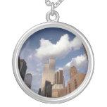 Reflexiones el World Trade Center de las torres ge Colgante Personalizado