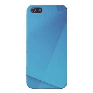 Reflexiones en caja azul de la mota iPhone 5 cárcasa