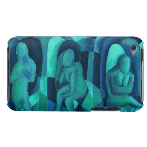 Reflexiones en el azul I - ángeles ciánicos de la  iPod Touch Cobertura