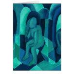 Reflexiones en el azul I - ángeles ciánicos de la  Felicitacion