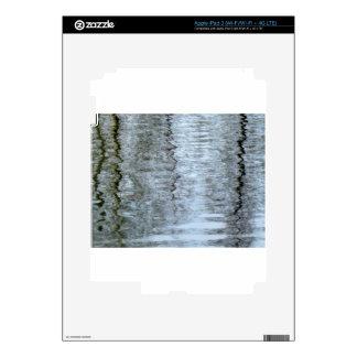 Reflexiones en el hielo pegatinas skins para iPad 3