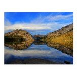 Reflexiones en el lago Tenaya Postal