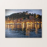 Reflexiones en Portofino, rompecabezas de Italia