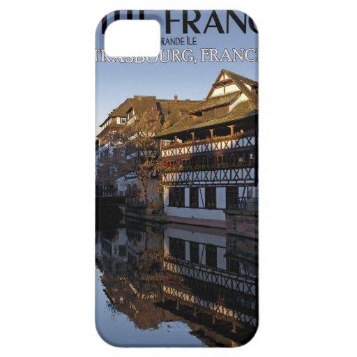 Reflexiones enfermas de Estrasburgo - río iPhone 5 Cárcasas