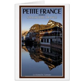 Reflexiones enfermas de Estrasburgo - río Tarjeta De Felicitación