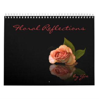 Reflexiones florales calendario de pared