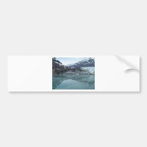 Reflexiones glaciales 3 etiqueta de parachoque