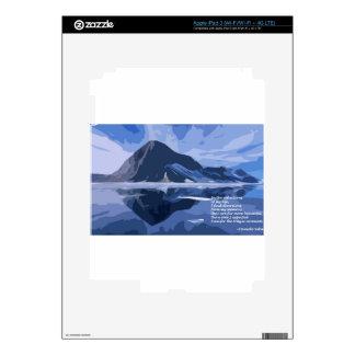 Reflexiones iPad 3 Pegatinas Skins