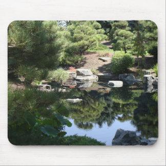 Reflexiones japonesas botánicas del jardín de Denv Alfombrilla De Raton