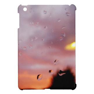reflexiones lluviosas iPad mini funda