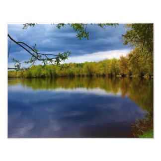 Reflexiones nubladas fotografía