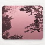 Reflexiones rosadas Mousepad Alfombrilla De Raton