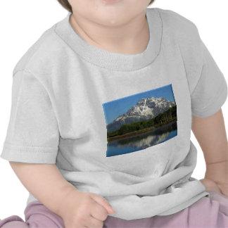 Reflexiones Tetons magnífico Camisetas