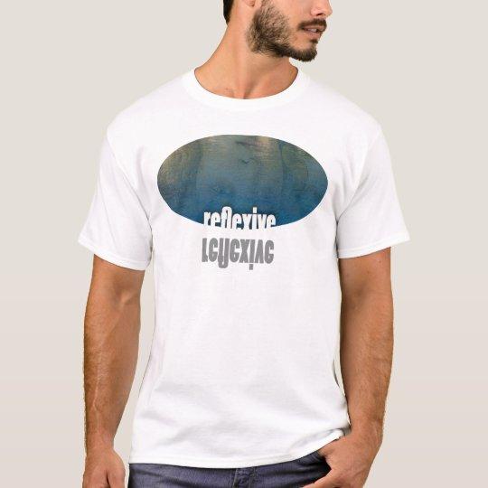 reflexive white T-Shirt