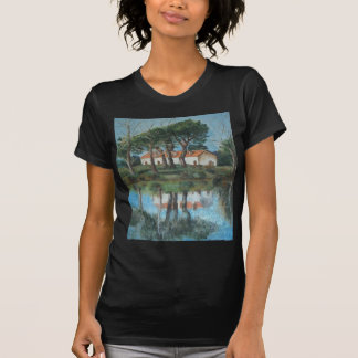 Reflexo - óleo - 35x45 T-Shirt