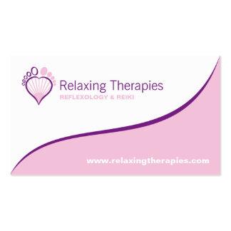 Reflexologist Business Card