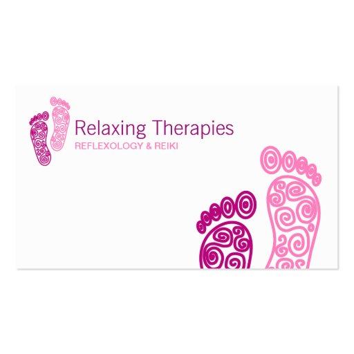 Reflexology Business Card
