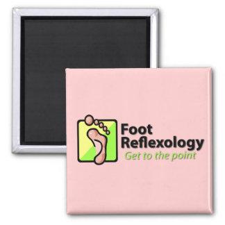 Reflexology del pie imán de nevera