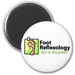 Reflexology del pie iman para frigorífico