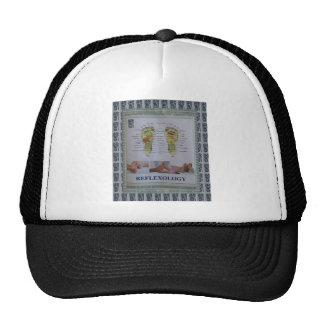 REFLEXOLOGY Full Body Poster Body Spirit n Mind Trucker Hat