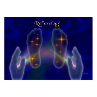 Reflexology Large Business Card
